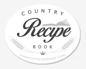country recipe book logo