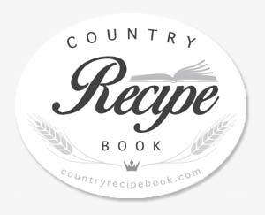 country recipe book logo