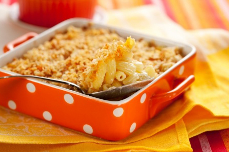 Country Baked Macaroni and Cheese