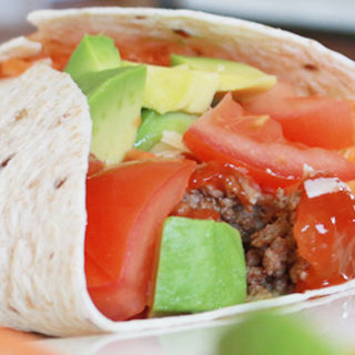 Mexican Beef Wrap Recipe